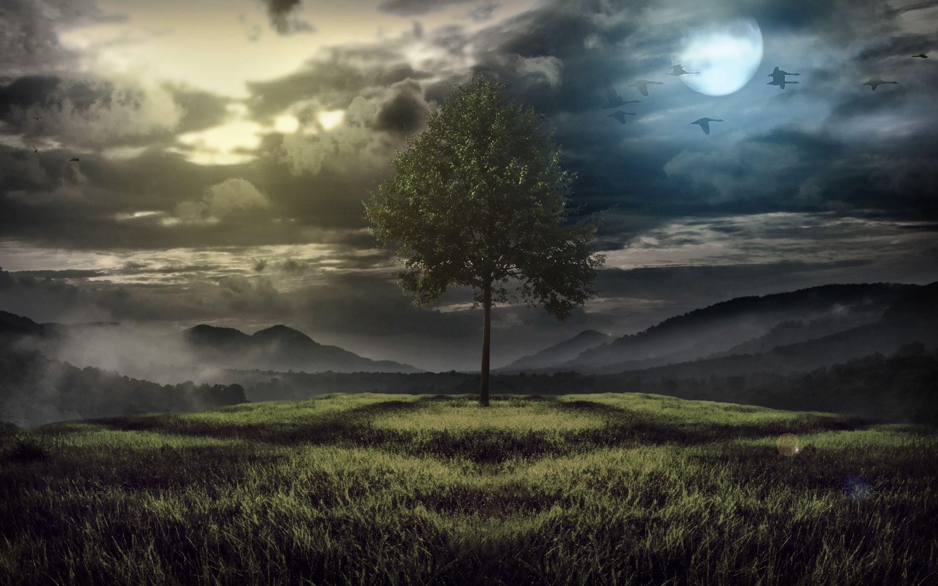 fantasy landscape wallpaper pictures - photo #19