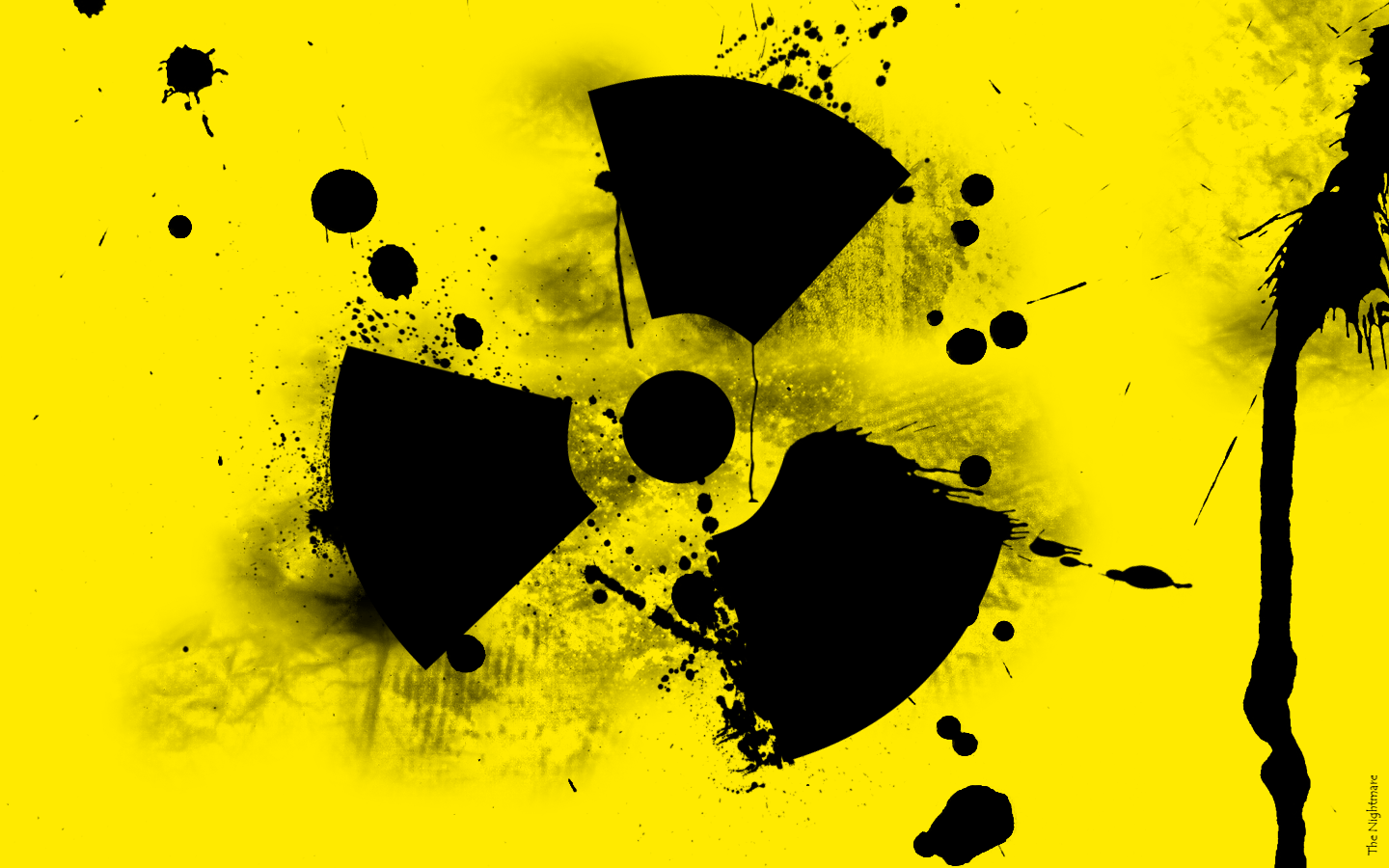 Pix For > Radioactive Sign Wallpaper