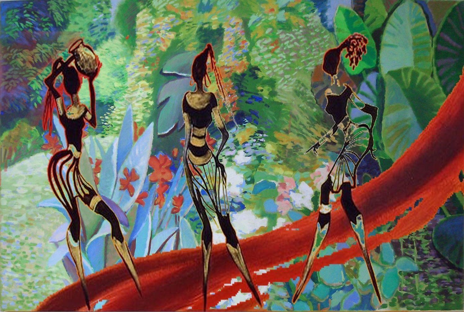 African Art Wallpapers - Wallpaper Cave