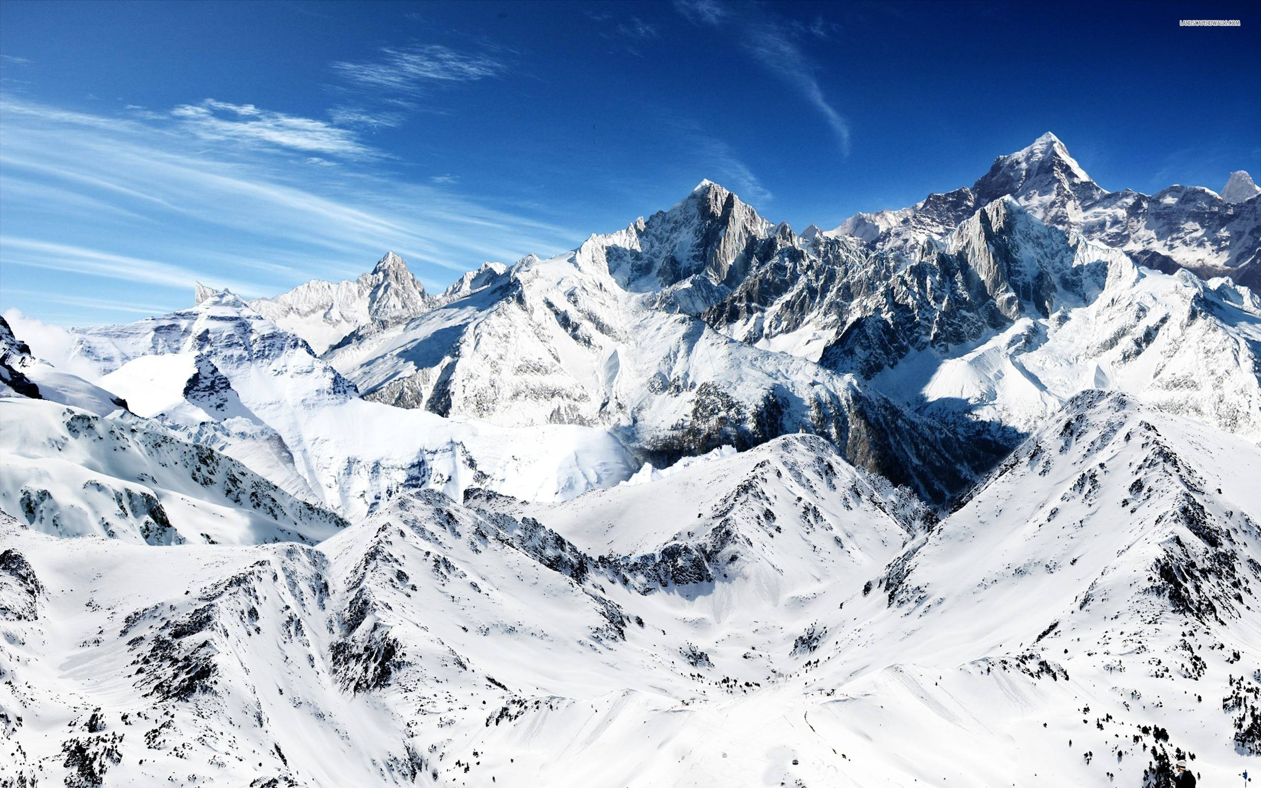 snow mountain wallpaper hd - photo #3