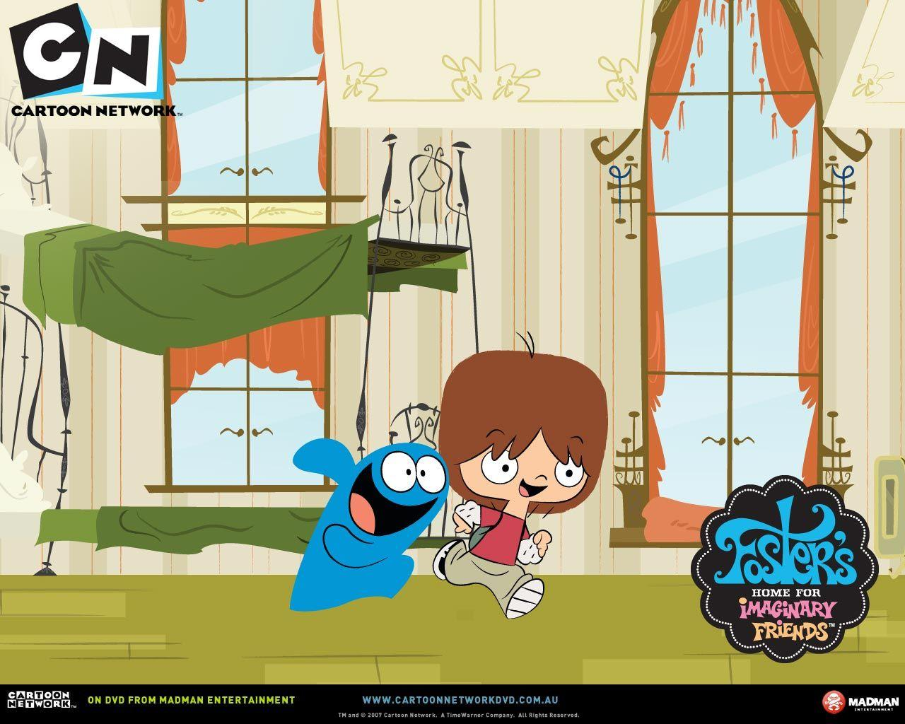 Fosters home for imaginary friends wallpapers wallpaper cave for Wallpaper home cartoon
