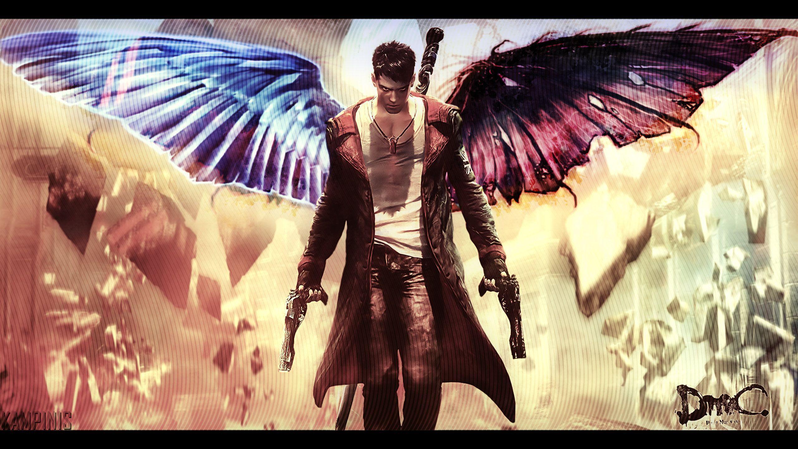 angel devil wings wallpaper - photo #6