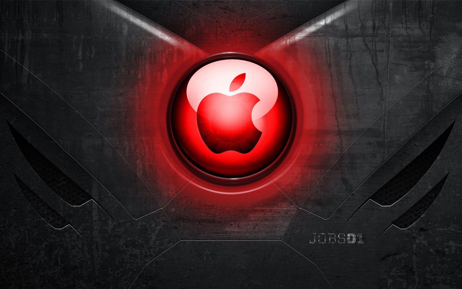 Iron Man Heart Apple Logo a522 HD Wallpapers