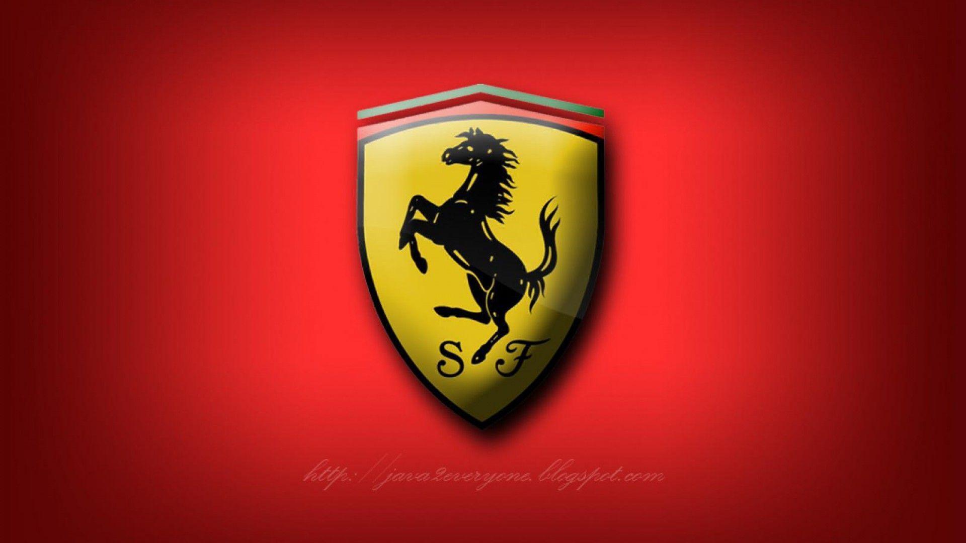 Ferrari Logo Wallpaper - Wallpaper And Background