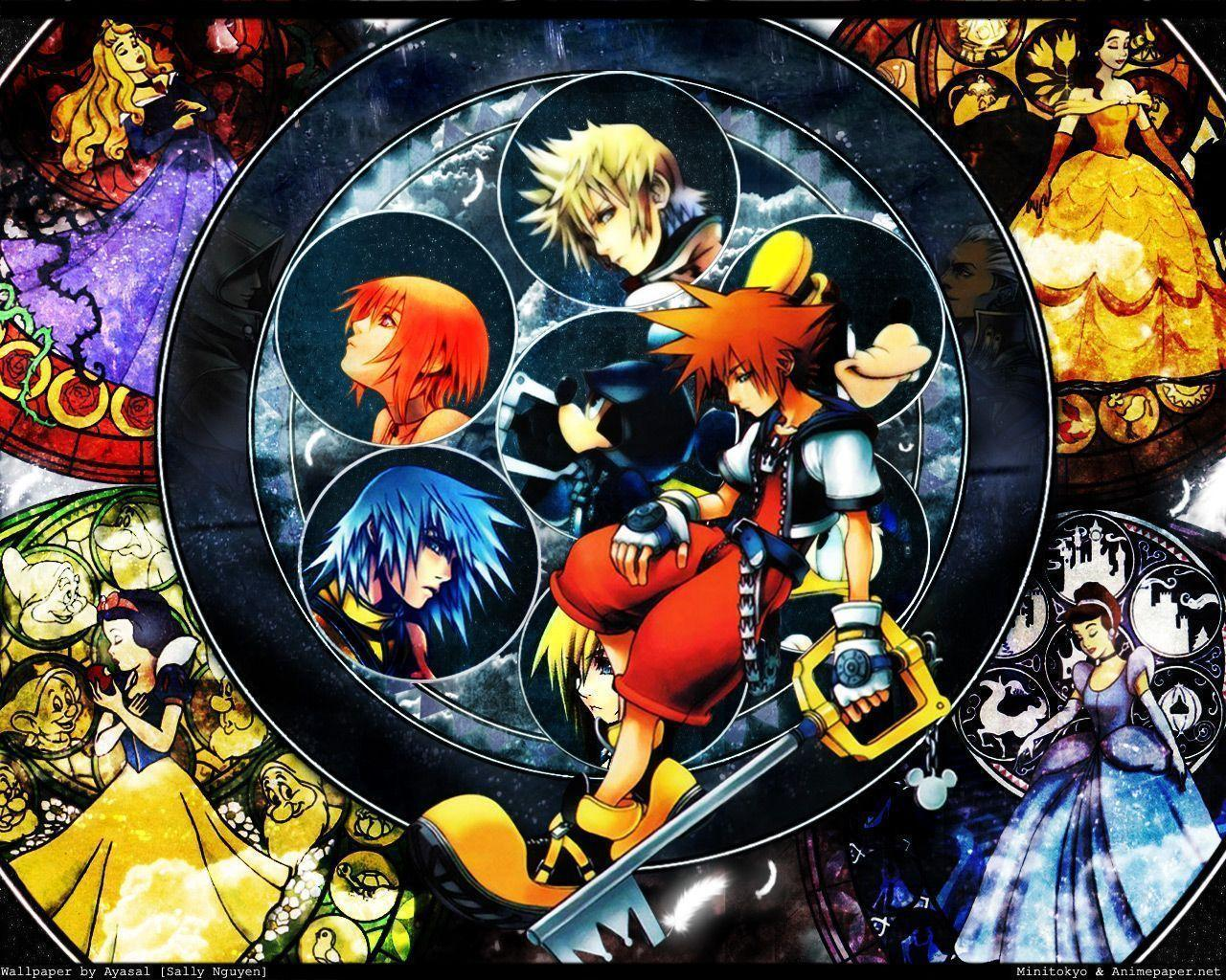 55 Kingdom Hearts Wallpapers