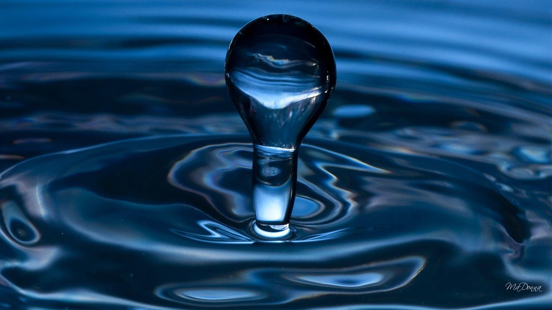 Colored Water Drop Picture HD Wallpaper - Beraplan.