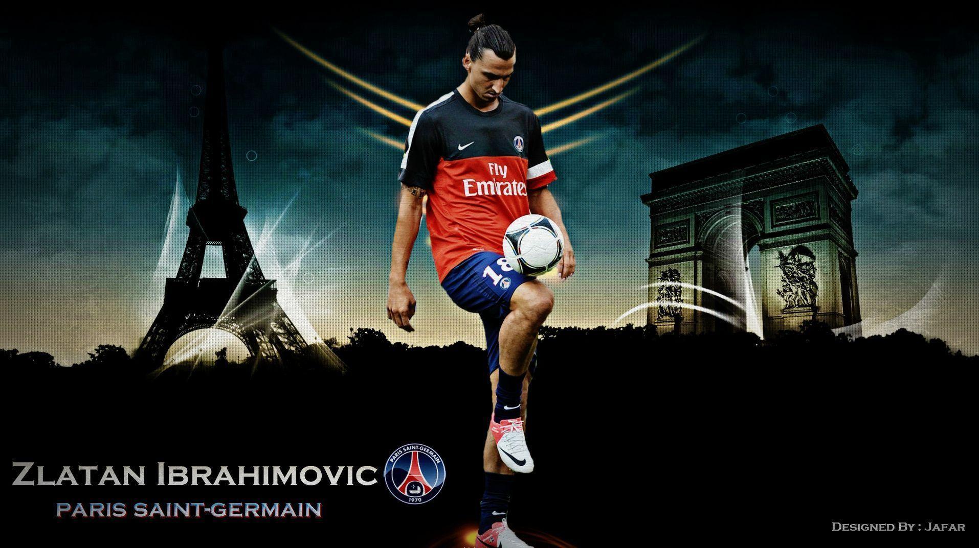 Zlatan Ibrahimovic PSG - Football Wallpaper HD, Football Picture ...