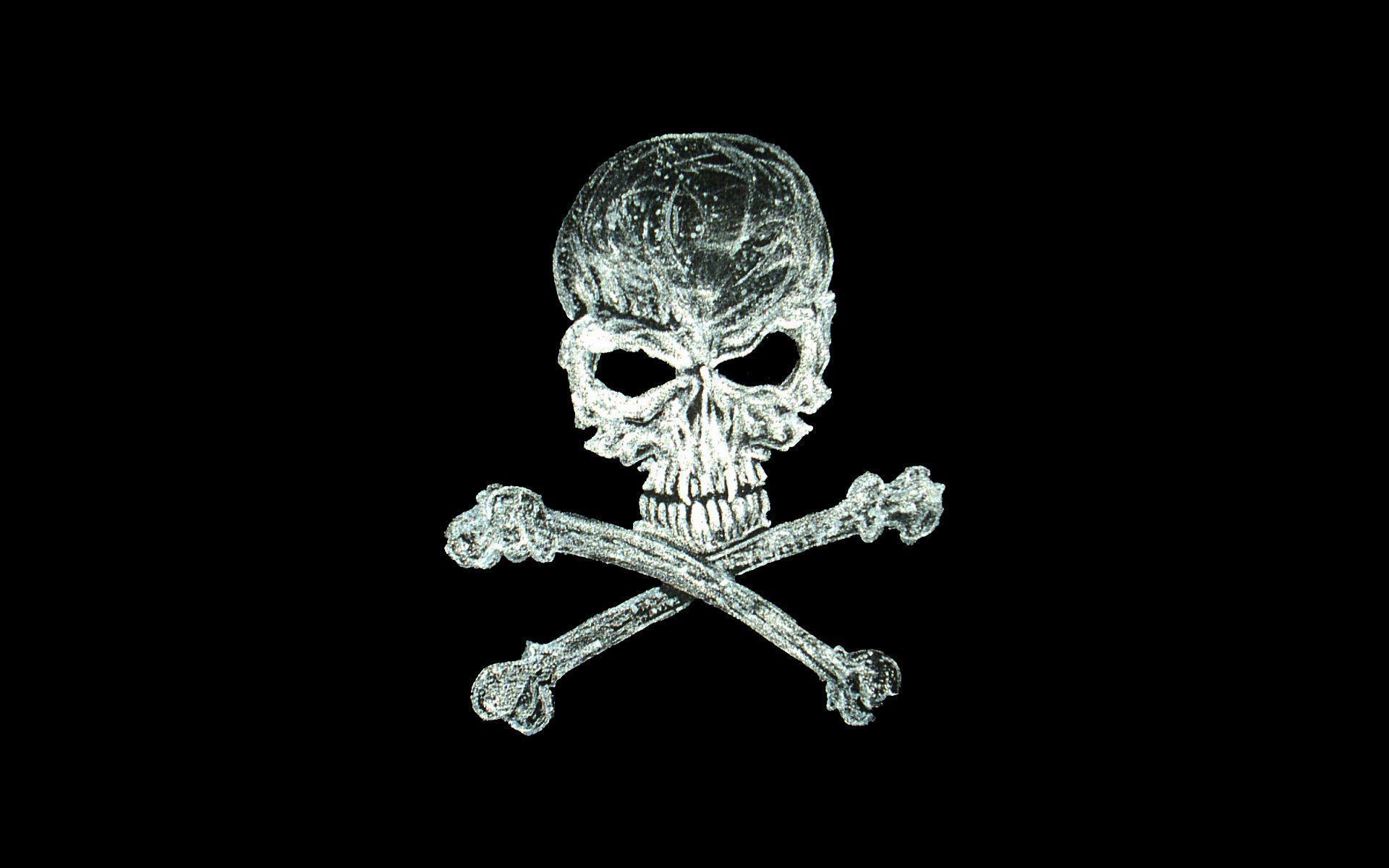 wallpaper skull bones pirate - photo #4