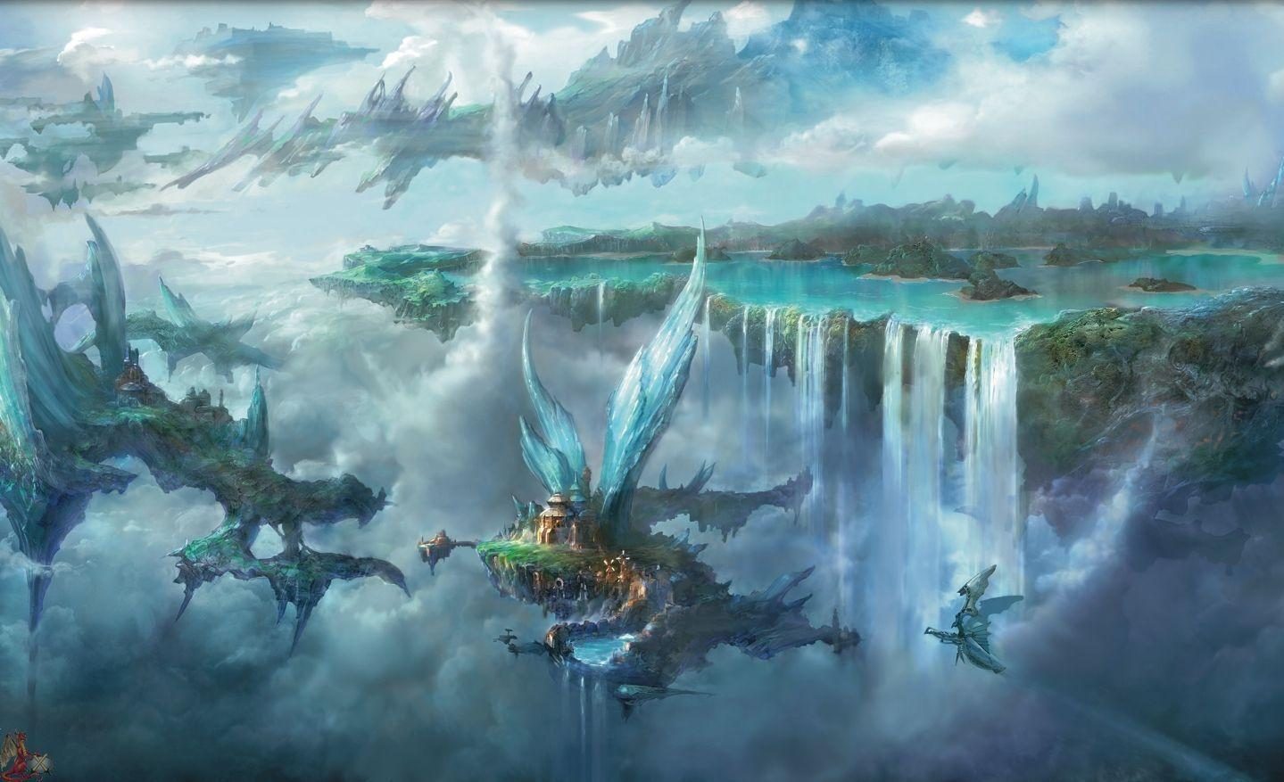 Stunning Hd Fantasy Gaming Desktop Wallpapers: HD Final Fantasy Wallpapers