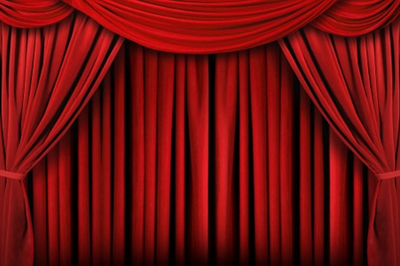 Theater backgrounds wallpaper cave for Background curtain decoration