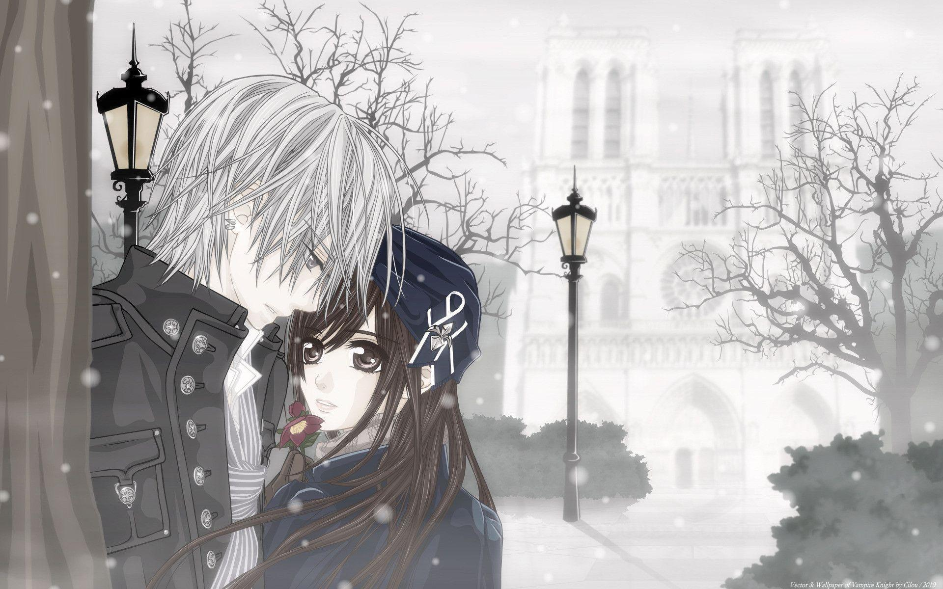 romantic anime wallpaper - photo #24