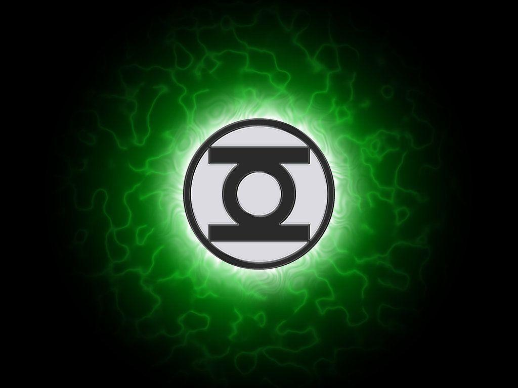 It is a photo of Challenger Green Latern Logo