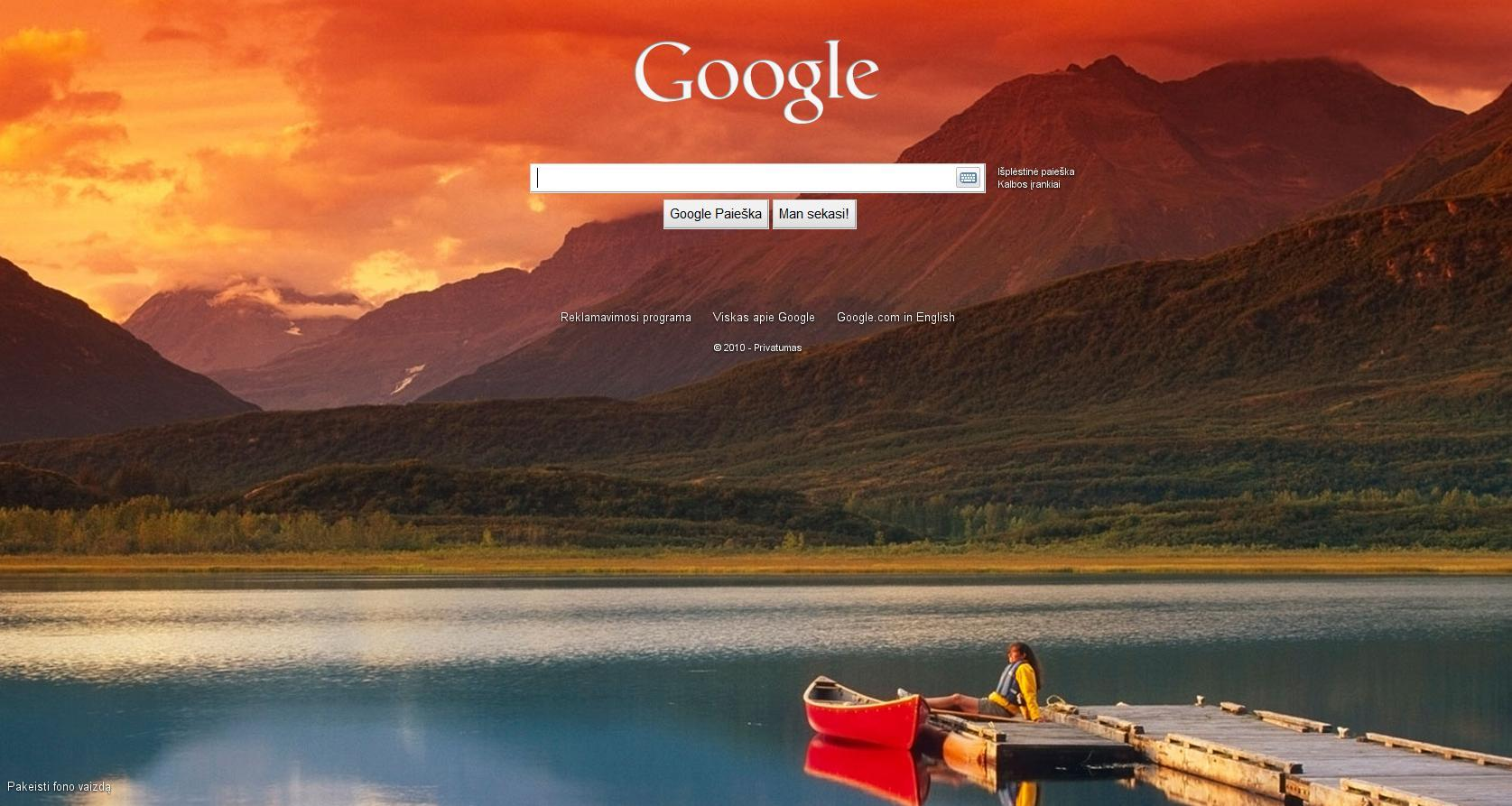 how to change the google wallpaper