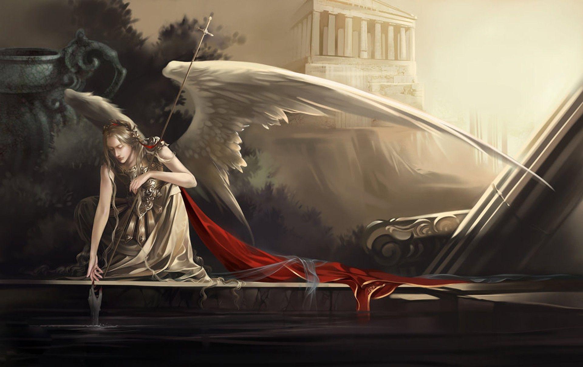 sexy fallen male angels wallpaper - photo #20