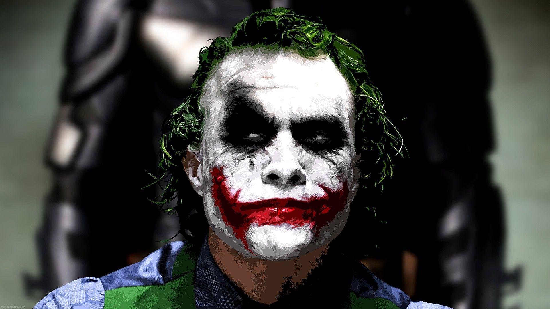 Heath Ledger Joker Wallpaper Wallpaper Ideas