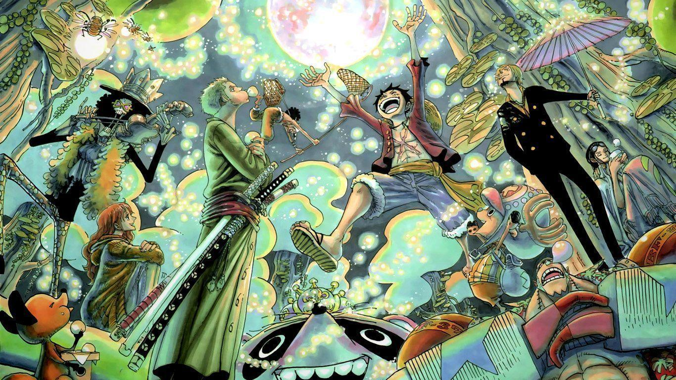 One Piece Wallpapers 1366x768 Desktop Wallpapers