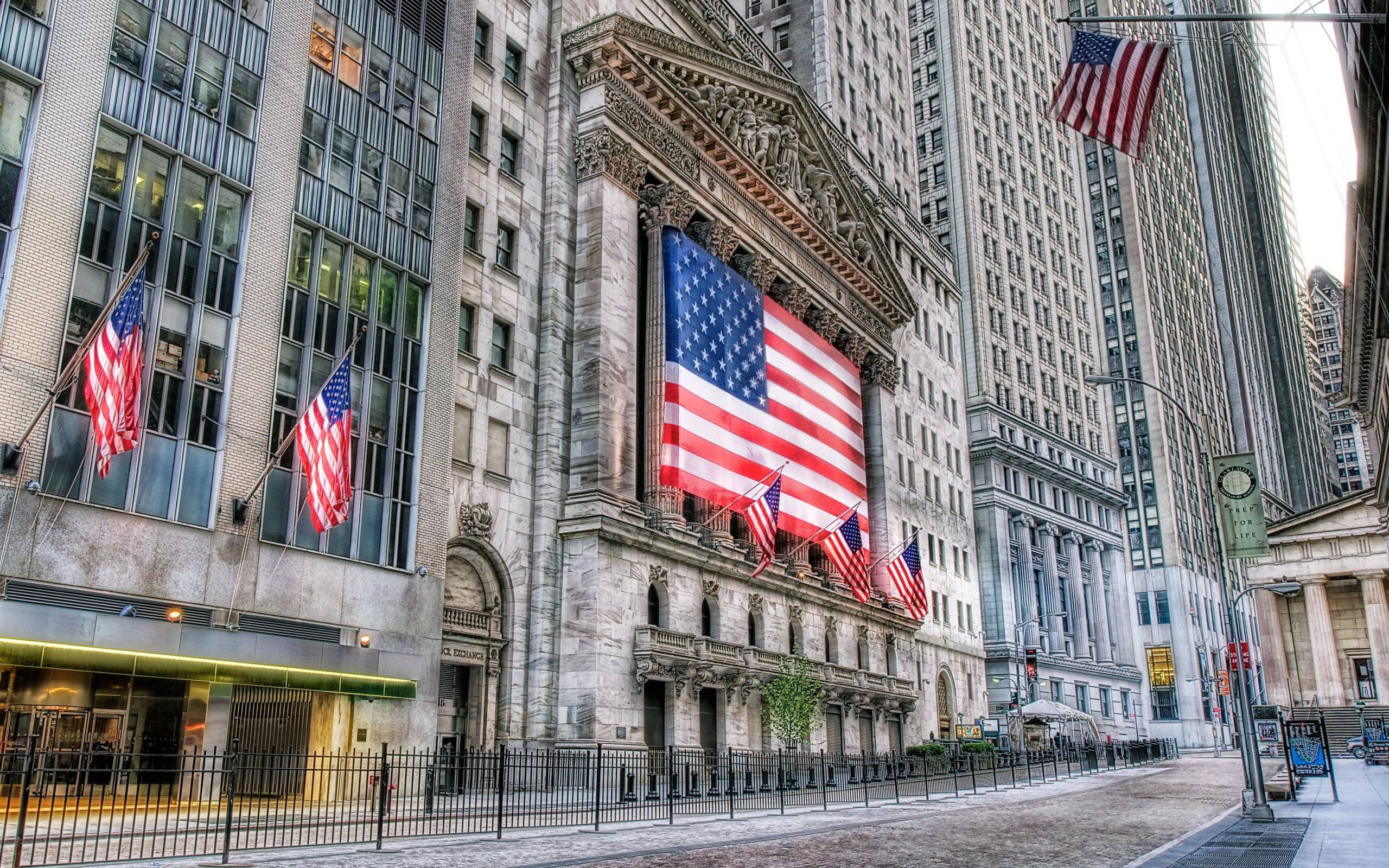 New York Stock Exchange Wall Street 2560x1600 wallpapers