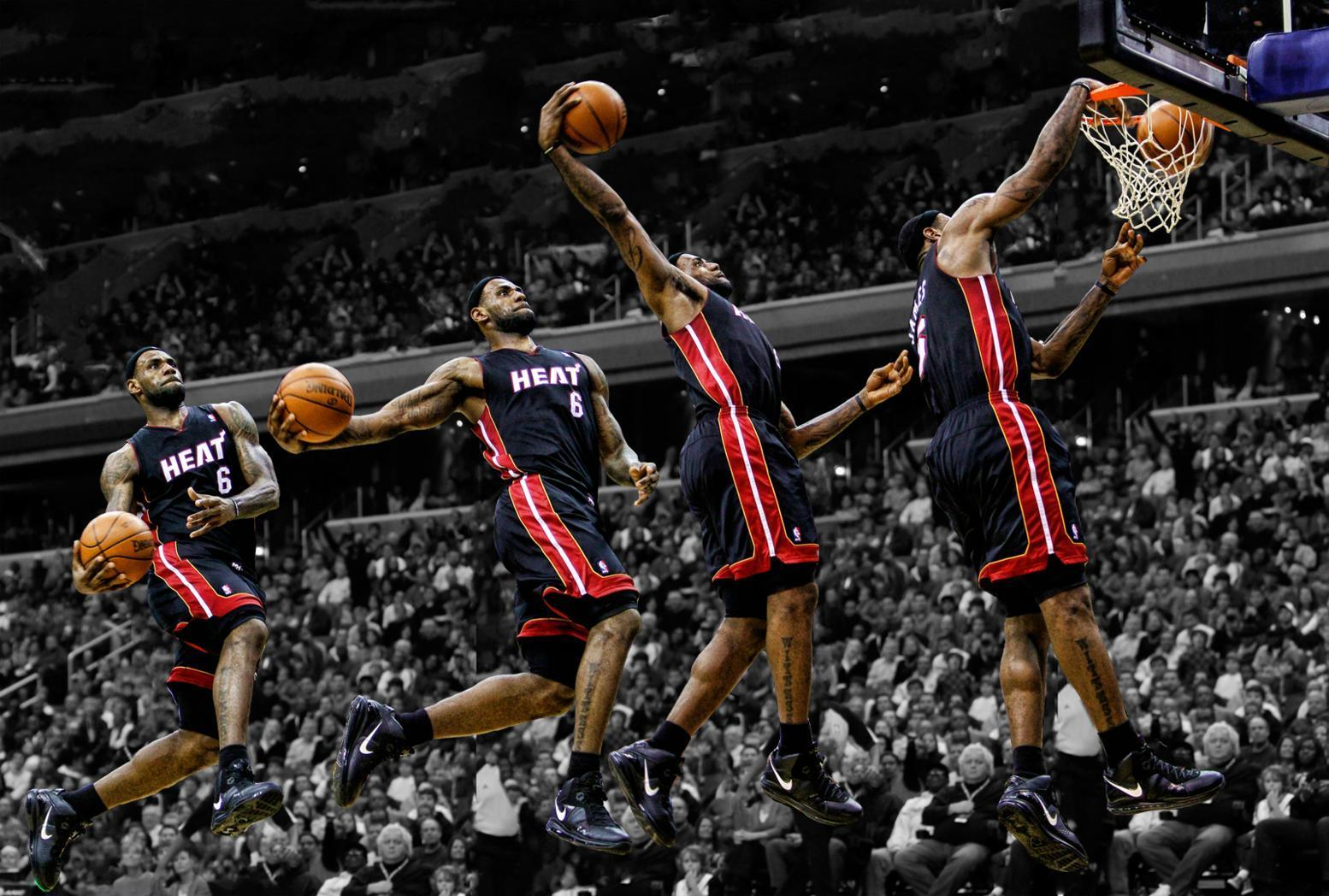 Wallpapers For > Lebron James Wallpapers Dunk Jason Terry
