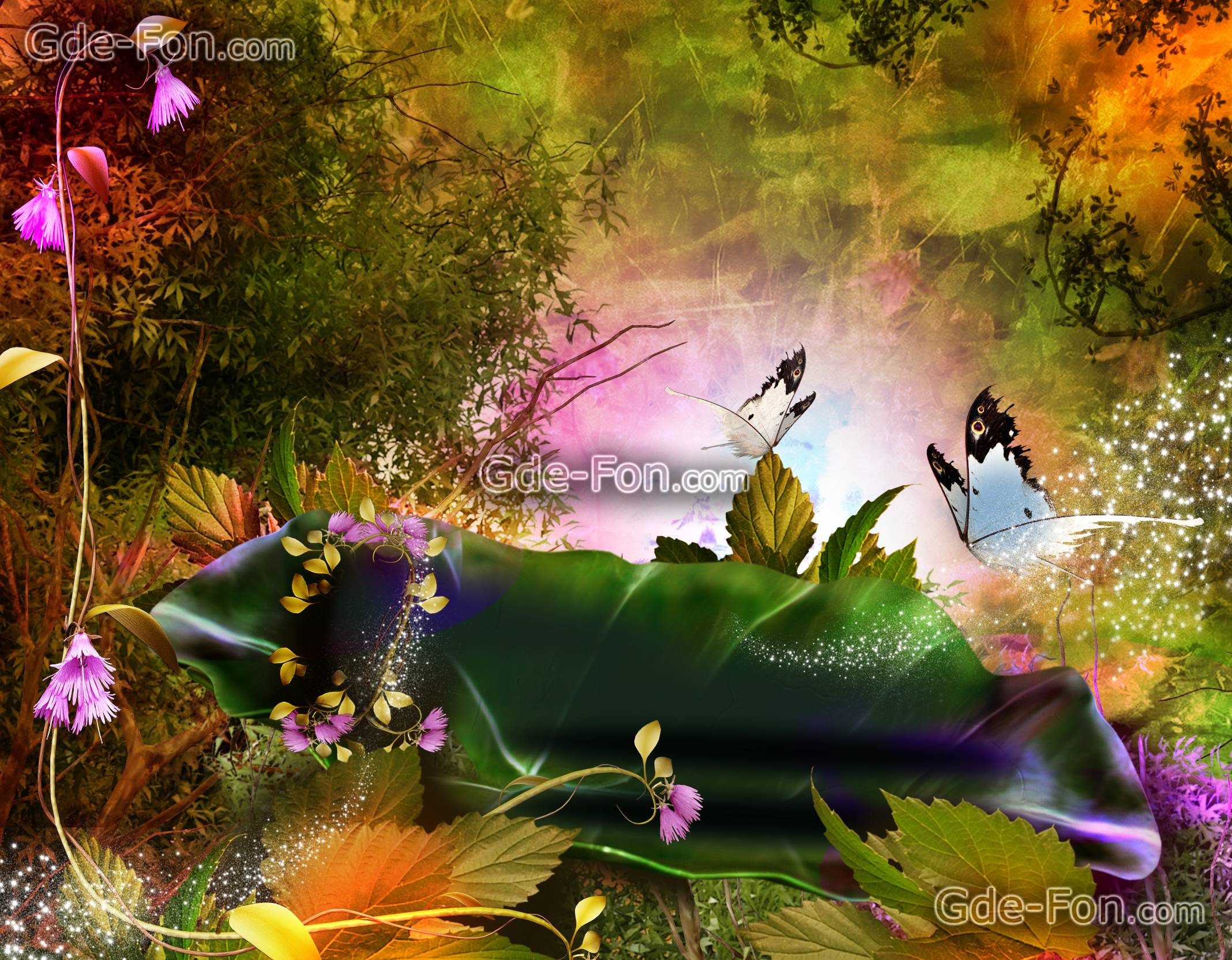 download wallpaper 3d nature phantasmagoria free desktop