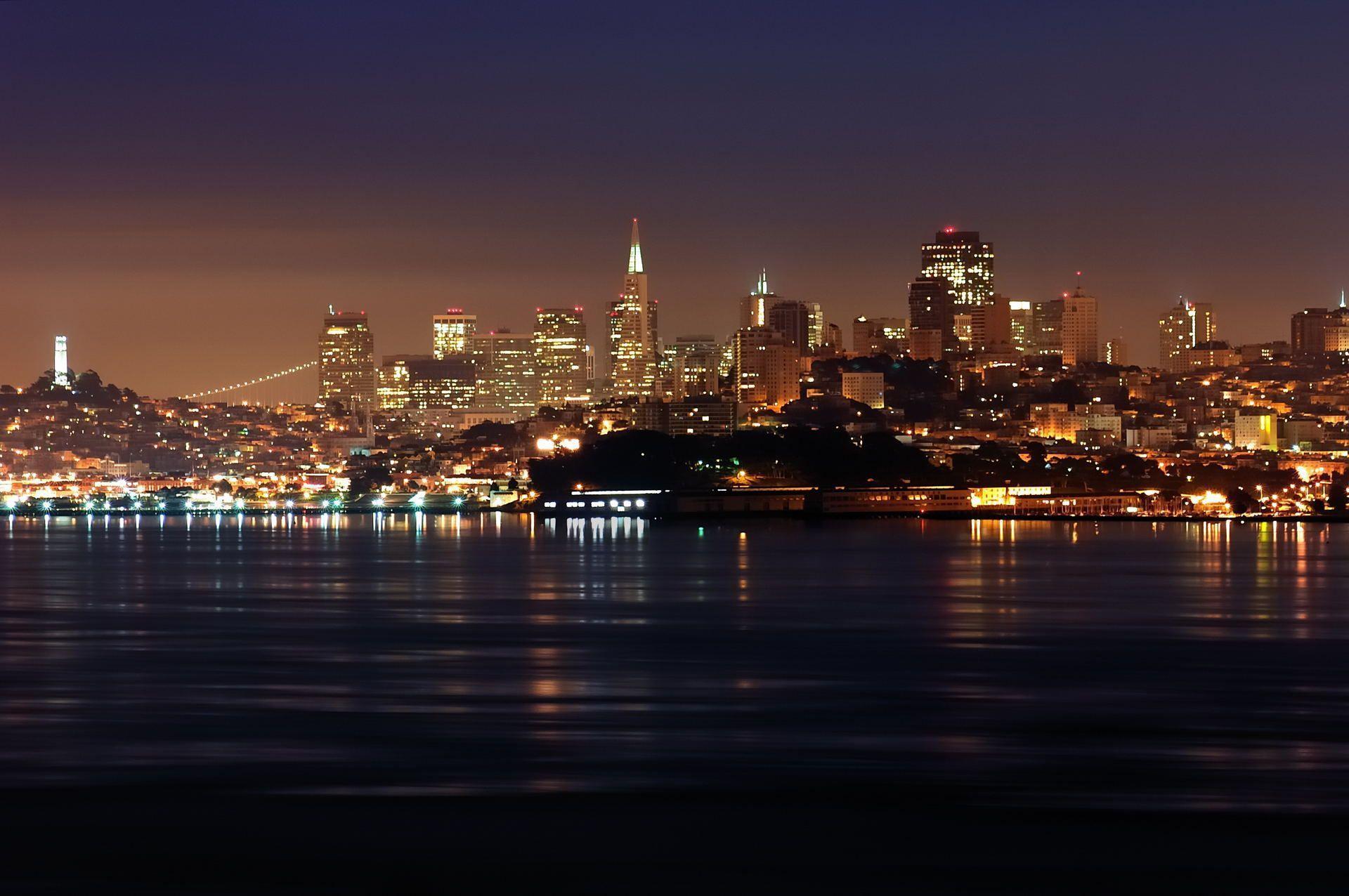 San Francisco Skyline Wallpapers - Wallpaper Cave