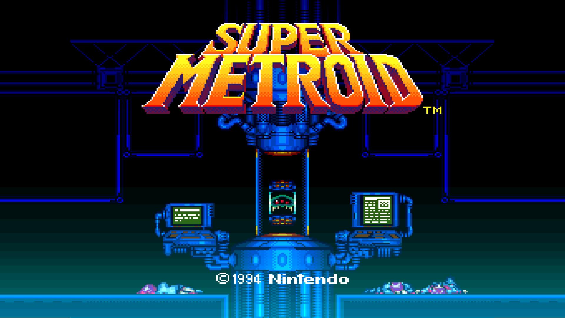 Classic Super Metroid Wallpaper