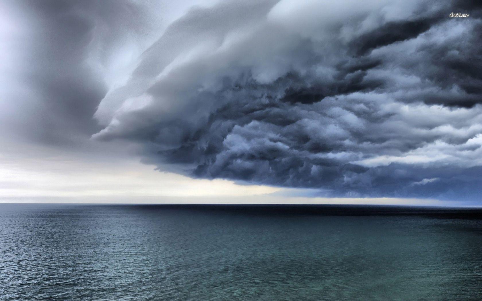 Beach And Ocean Storm: Storm Cloud Wallpapers