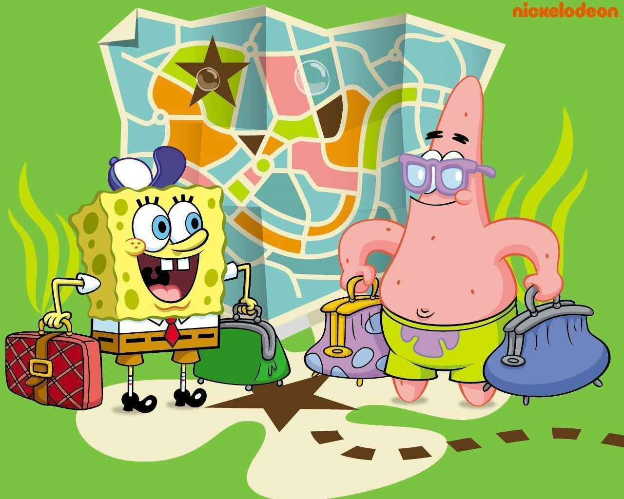 Spongebob Squarepants And Patrick Wallpapers - Wallpaper Cave