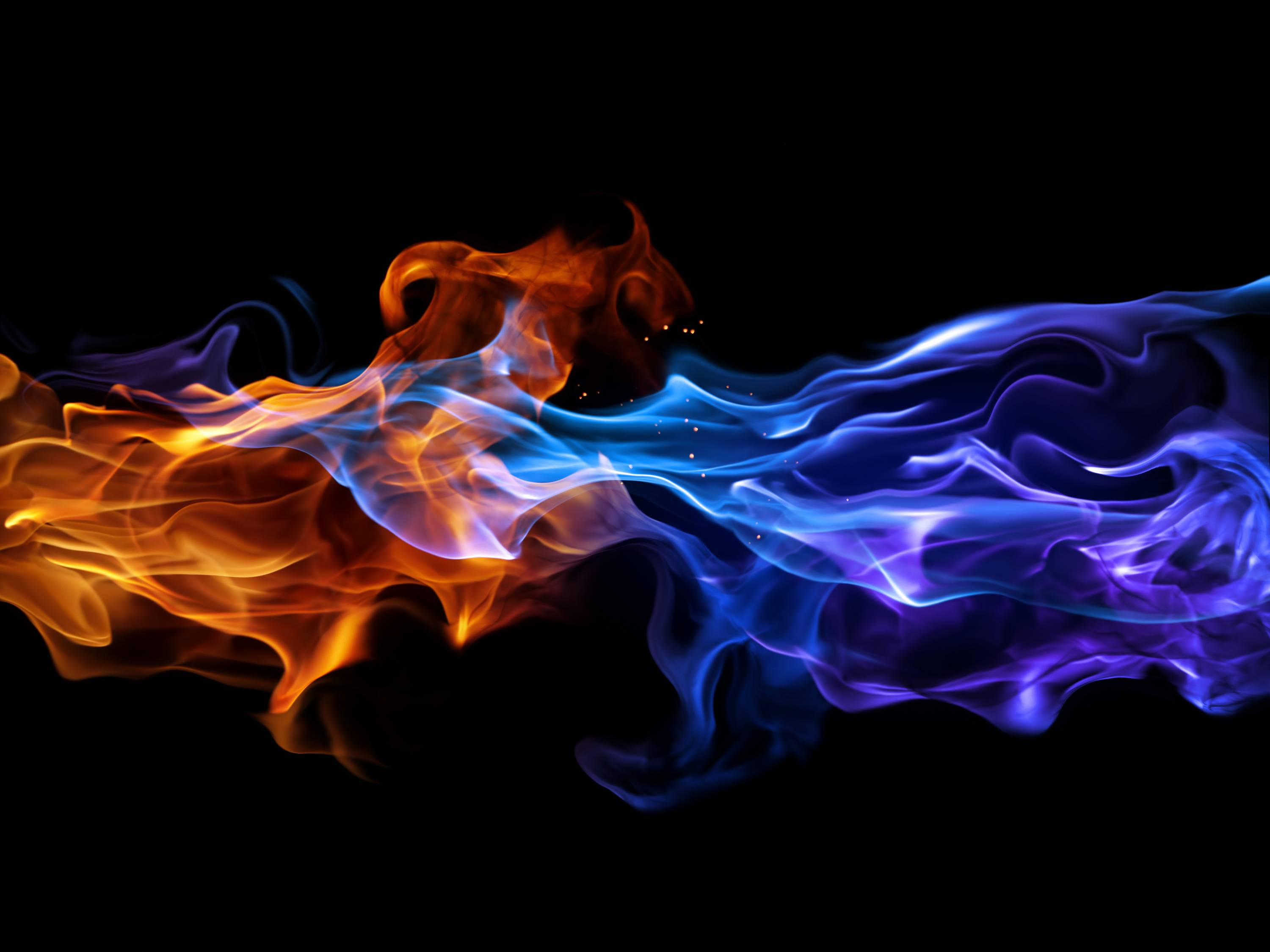 Blue Fire Wallpaper Images & Pictures - Becuo