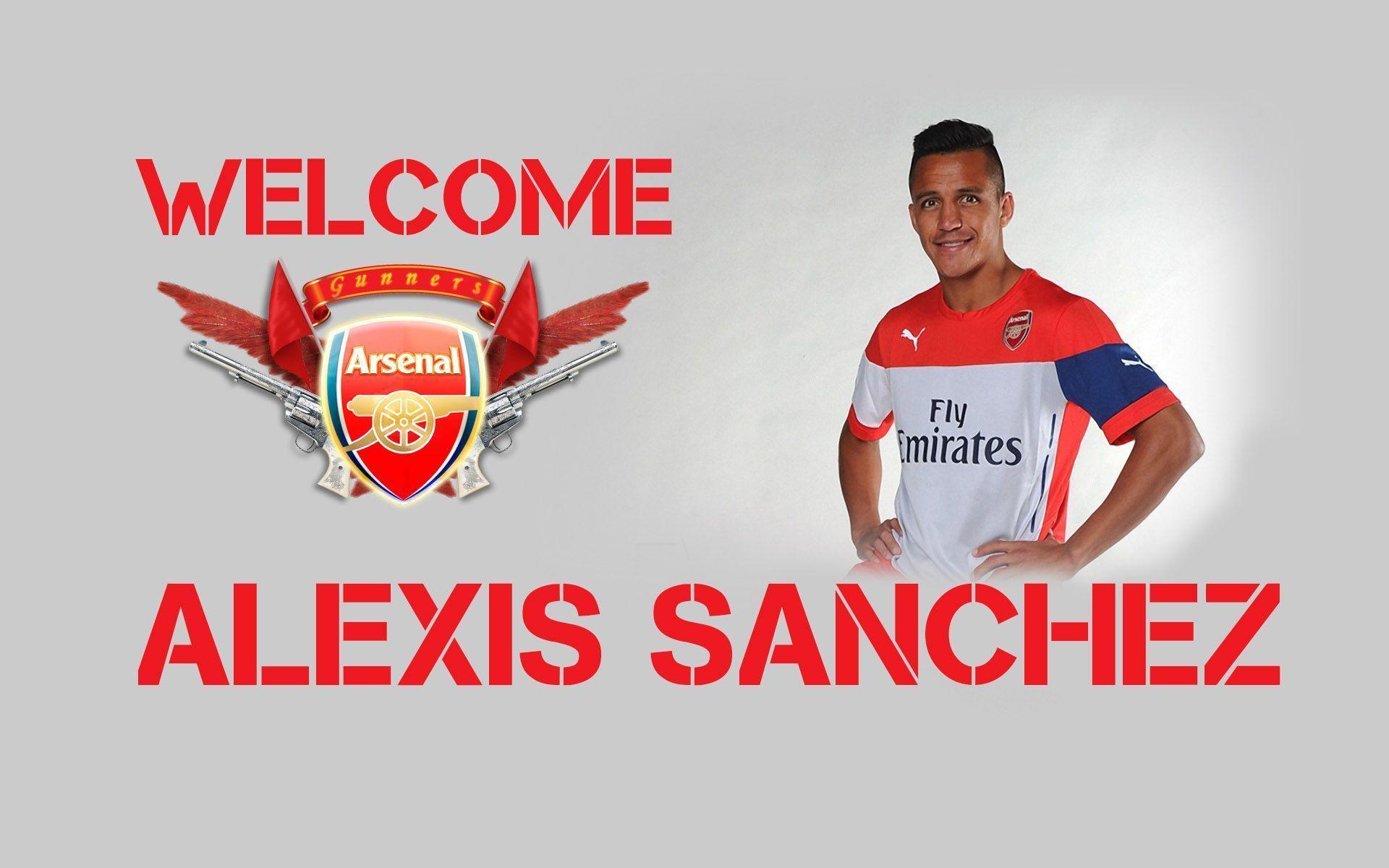 Descargar Dibujos De Alexis Sanches: Arsenal Fc Wallpapers 2015