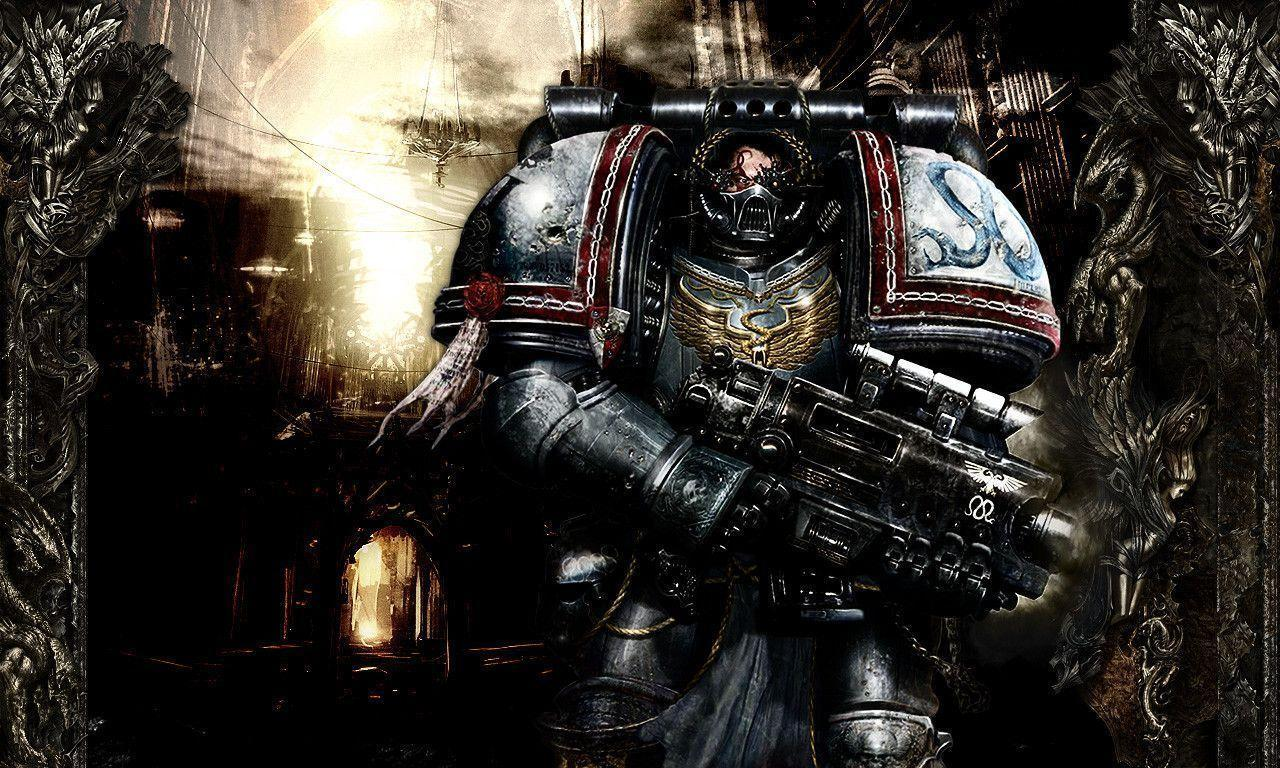 Chaos Space Marine Wallpapers 1280x768