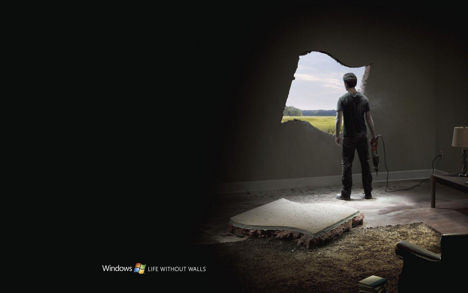 Wallpapers For > Windows 7 Backgrounds Hd Black