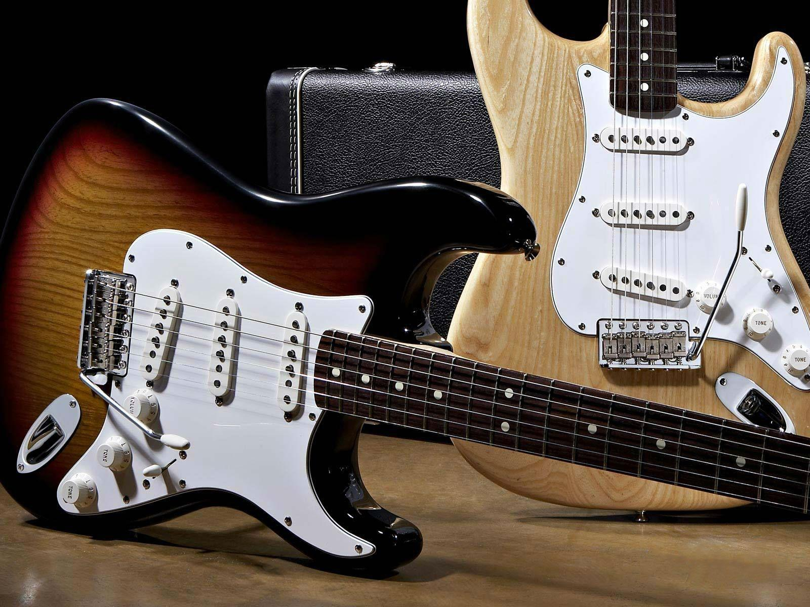 Wallpapers For > Fender Stratocaster Guitar Wallpaper
