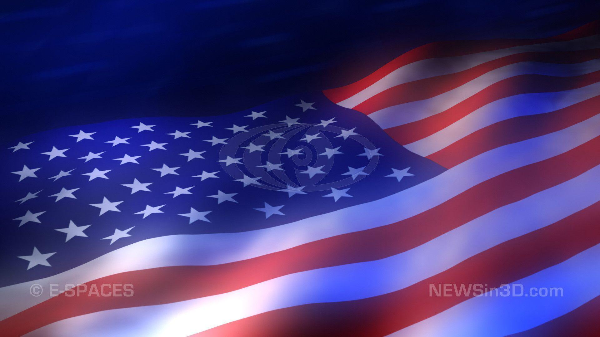 American Flag Looping Animated Backgrounds