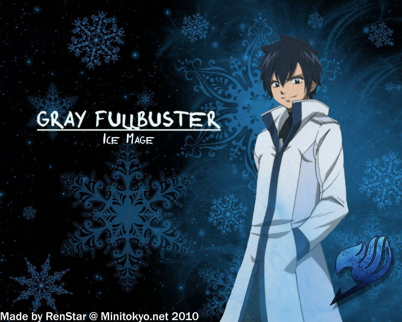 Wallpapers For > Fairy Tail Gray Wallpapers