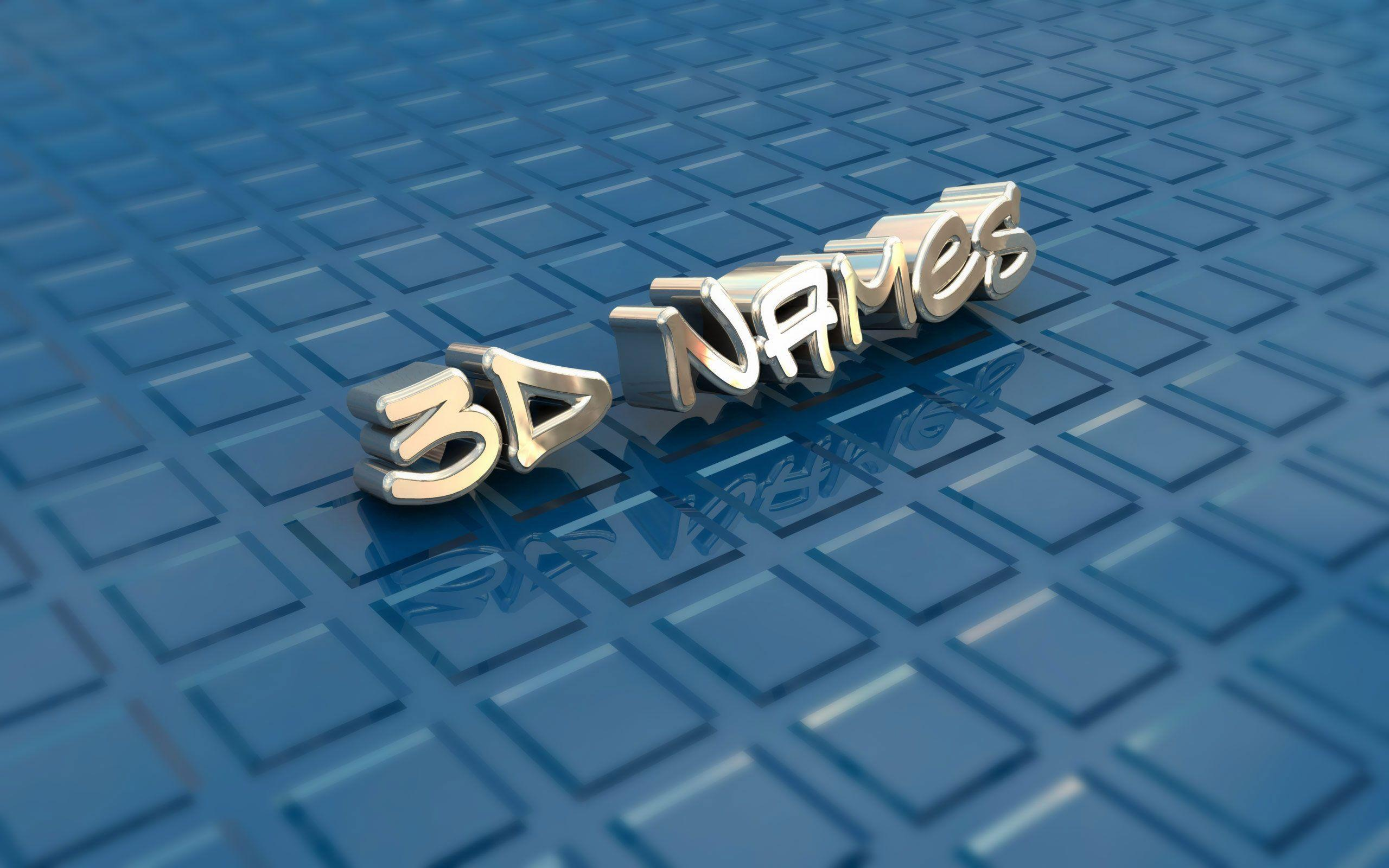 3d names wallpapers wallpaper cave