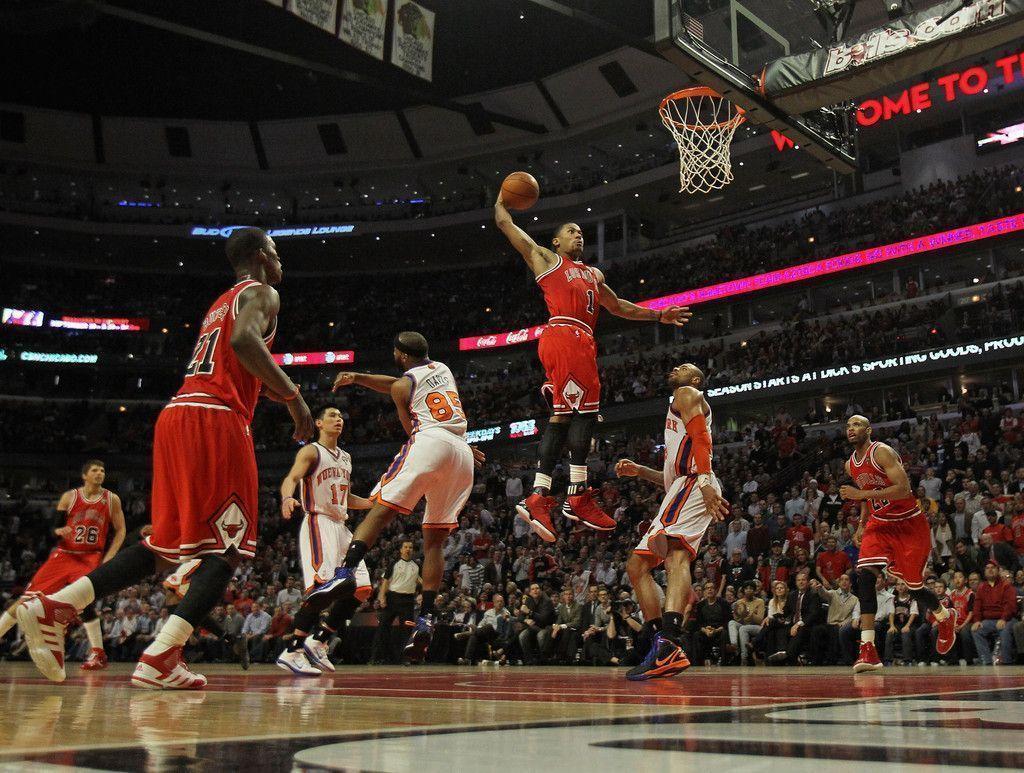 derrick rose wallpaper dunk - photo #14