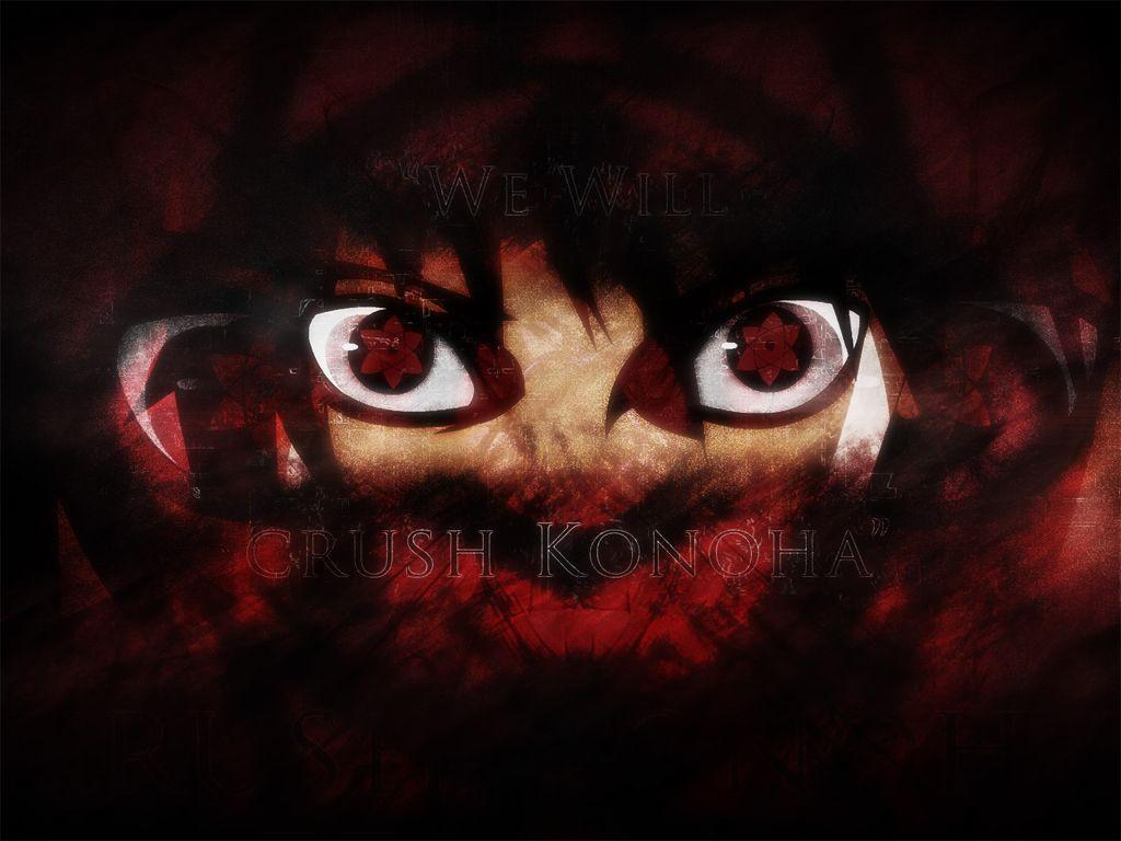 Itachi Uchiha Mangekyou Sharingan Wallpaper Anime