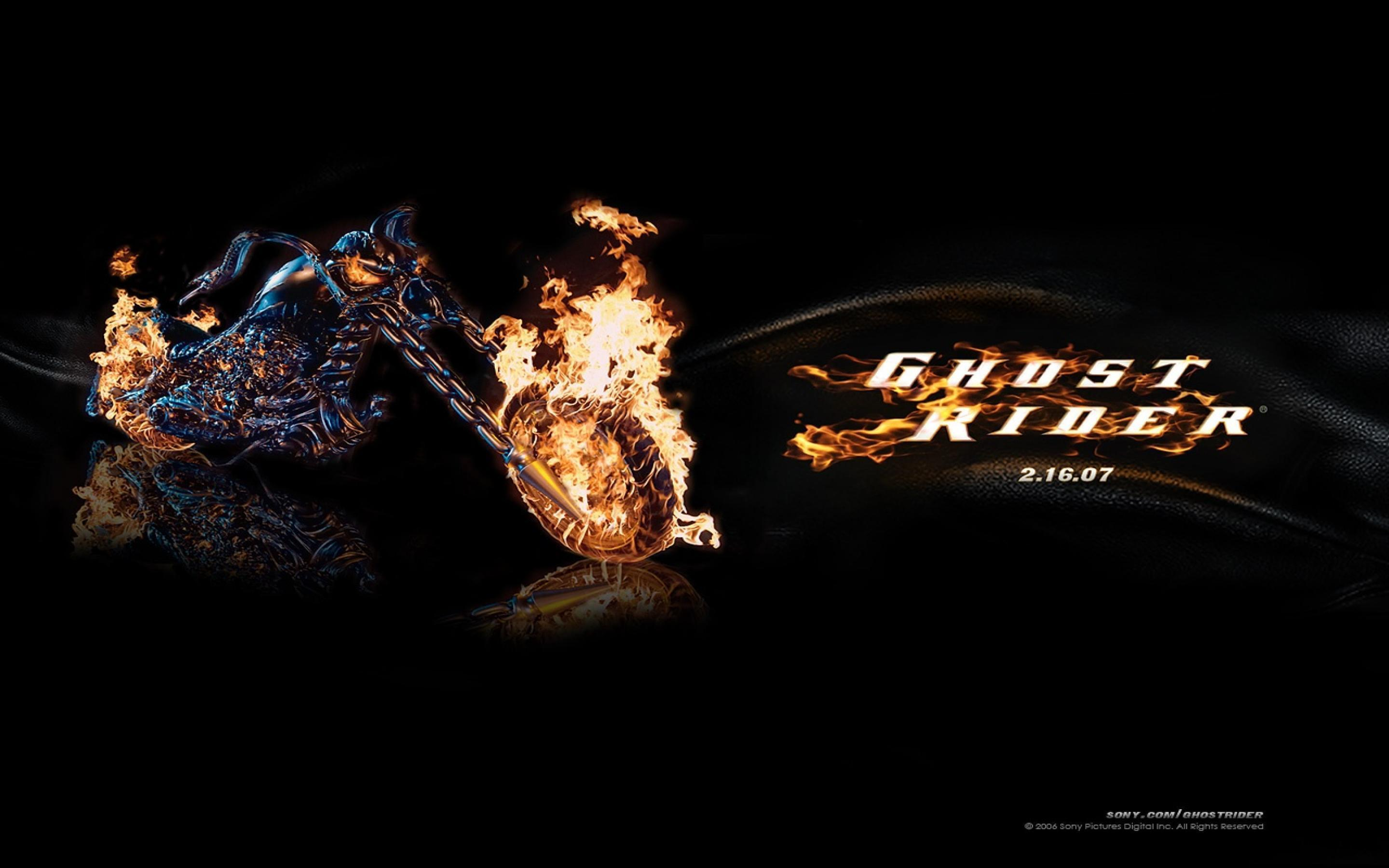 Ghost rider bike wallpapers
