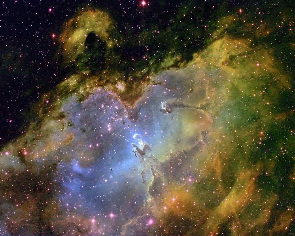 eagle nebula hd-#2