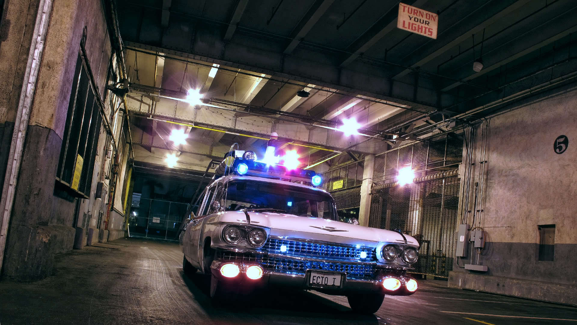 ecto 1 ghostbusters wallpaper - photo #8