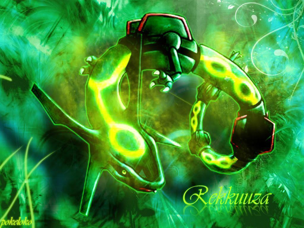 emerald rayquaza wallpapers - photo #39