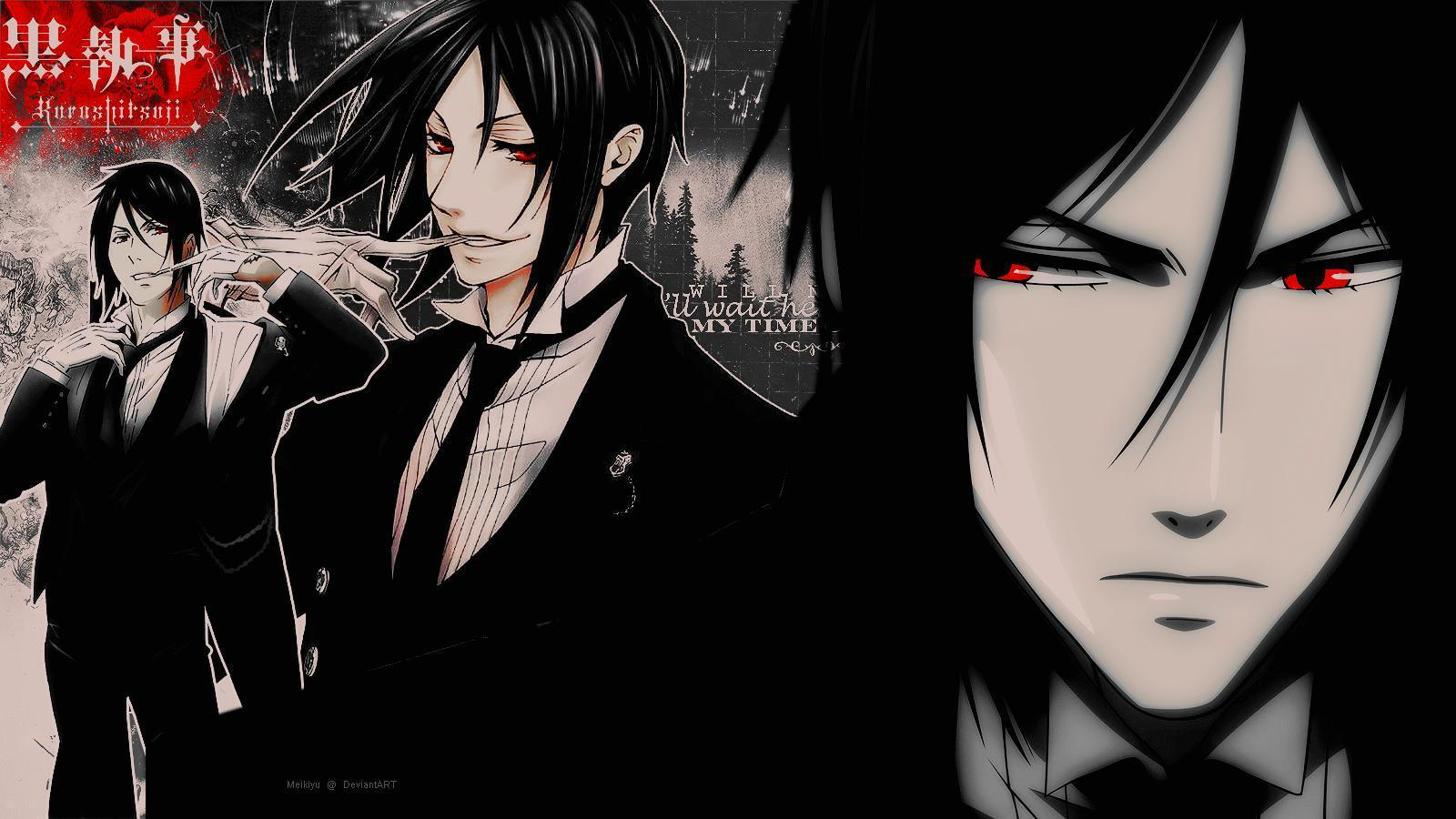 Kuroshitsuji Sebastian Michaelis HD Wallpaper For Desktop ...