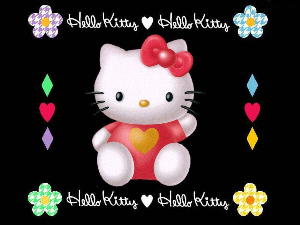hello kitty christmas backgrounds wallpaper cave