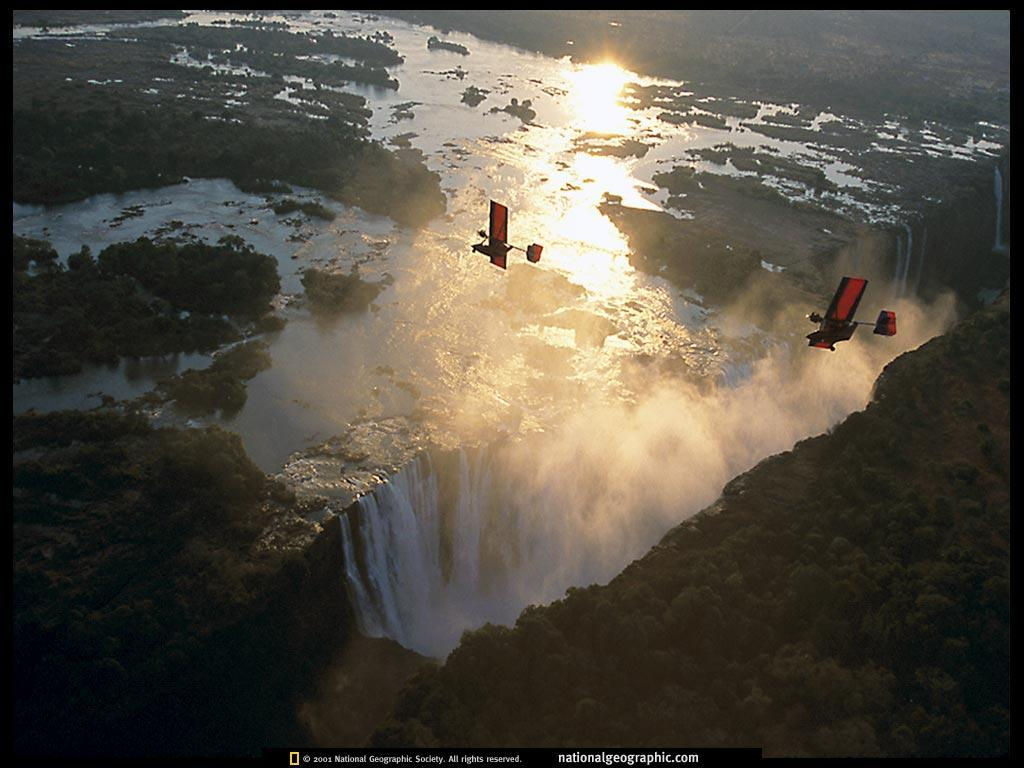 Africa, Victoria Falls Flight, 1997, Photo of the Day, Picture