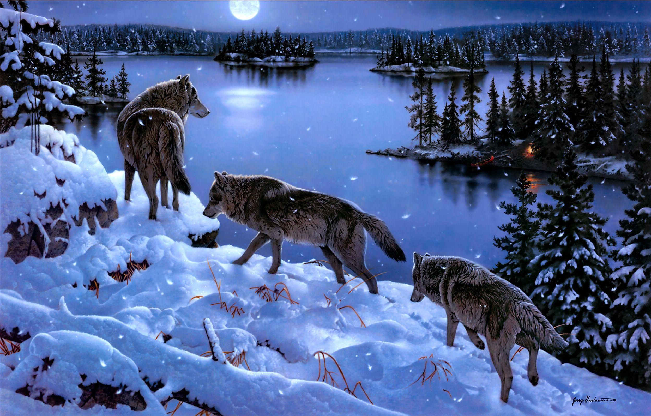 Wolf Pack Wallpapers