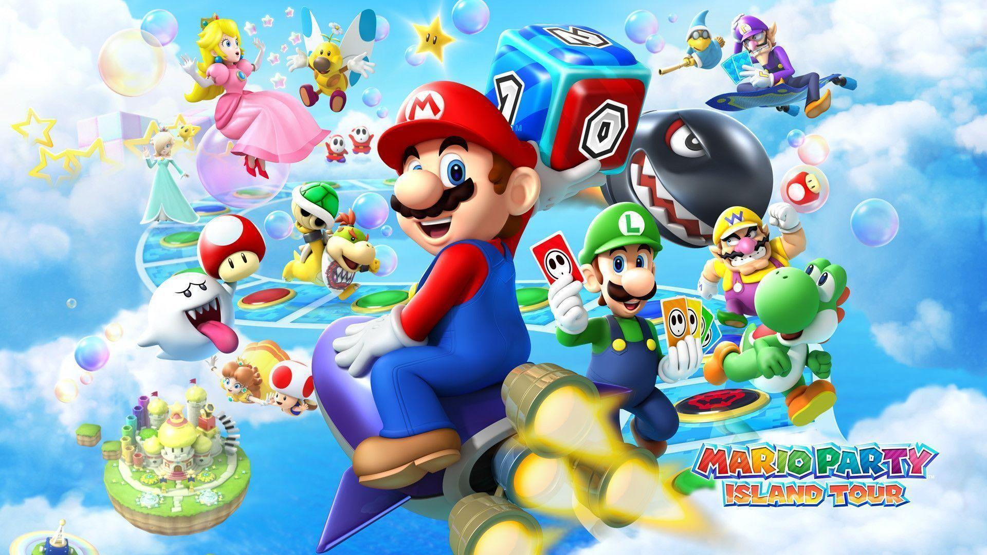 Mario Party Island Tour - Wallpaper - Nintendo Wallpaper (36641091 ...