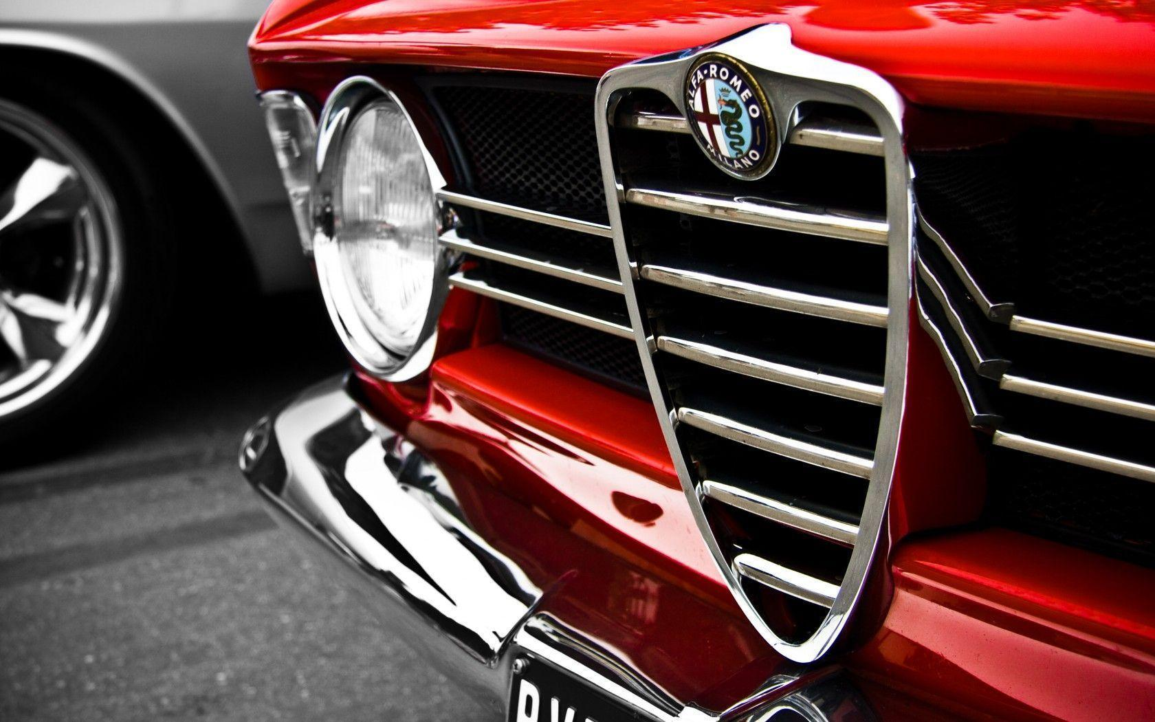 Alfa Romeo Logo Classic Car Wallpapers