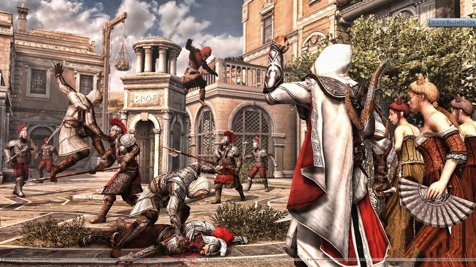 Assassin S Creed Brotherhood Wallpapers Wallpaper Cave