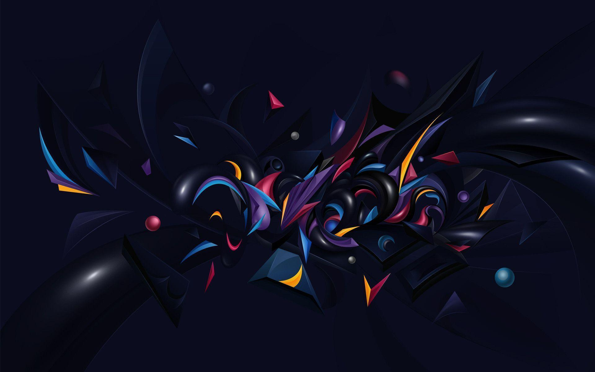 Abstract Chaos Desktop WallPaper HD