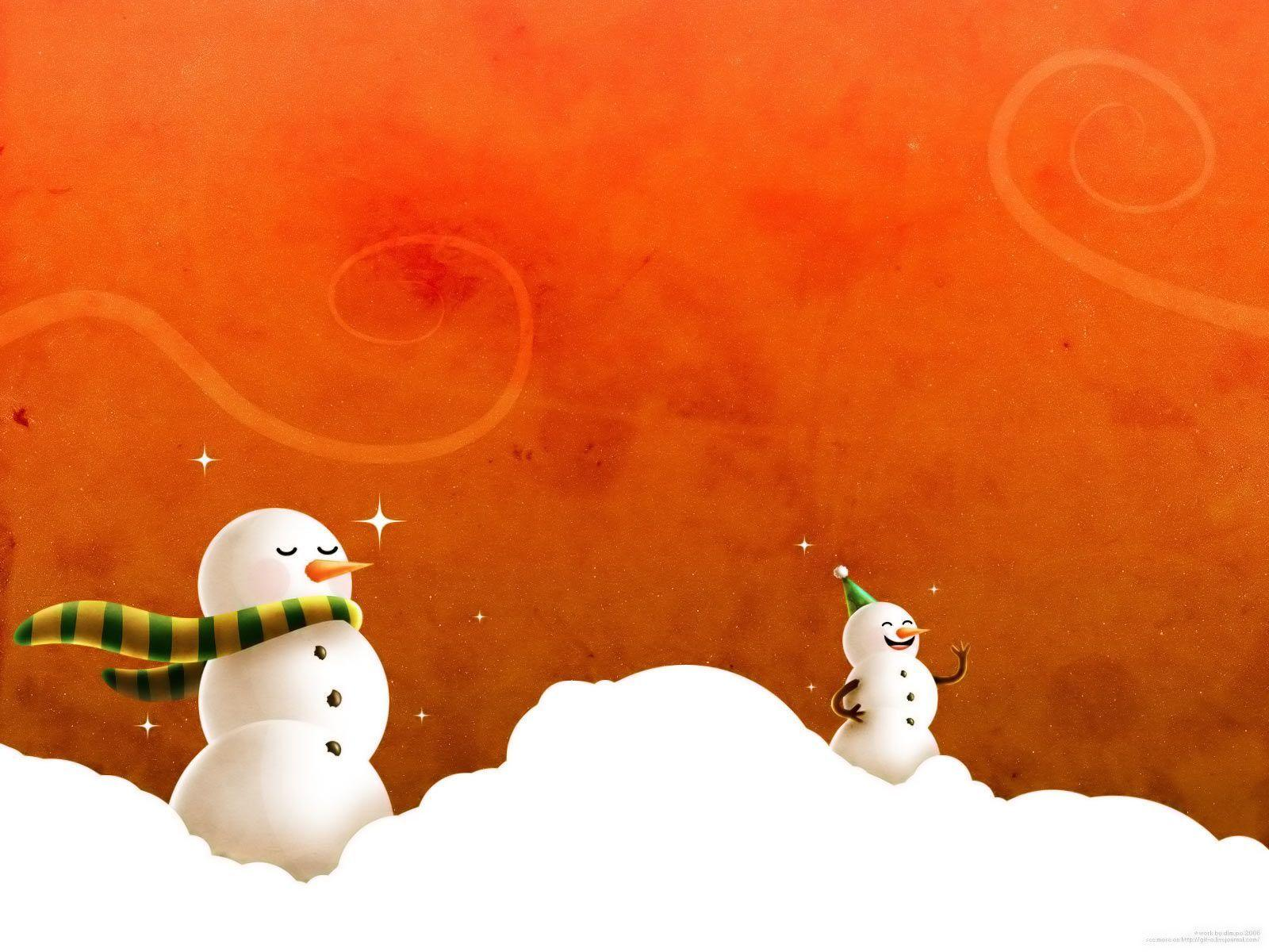 Desktop Wallpapers · Gallery · Miscellaneous · Christmas Snow Man